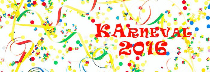 Karneval 2016 – Da simmer dabei!