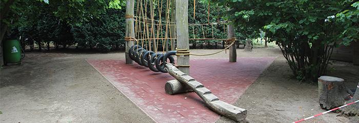 Wiedereröffnung der Seilbrücke