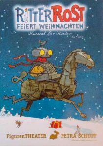 Plakat Ritter Rost feiert Weihnachten