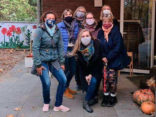 Team des Joki-Familienhauses