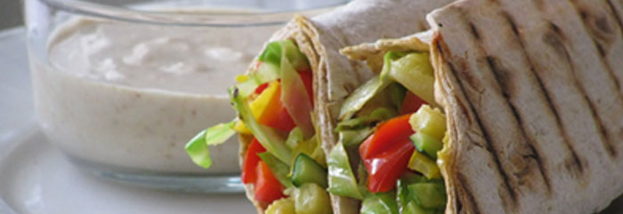 Online-Kinderkochkurs: Veggie Wraps