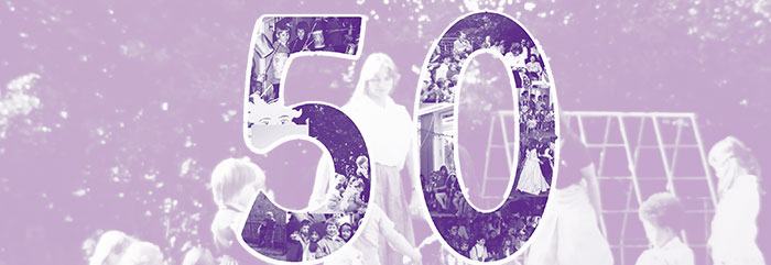 Jubiläum: 50 Jahre Kinder im Garten